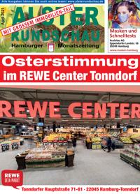 Die neue Ausgabe April 2021 der Alsterrundschau ist da!