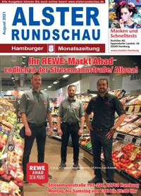 Die neue Ausgabe August 2021 der Alsterrundschau ist da!