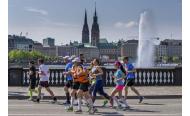 34. Hamburg Marathon am Sonntag