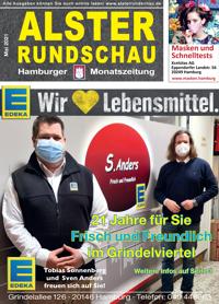 Die neue Ausgabe Mai 2021 der Alsterrundschau ist da!