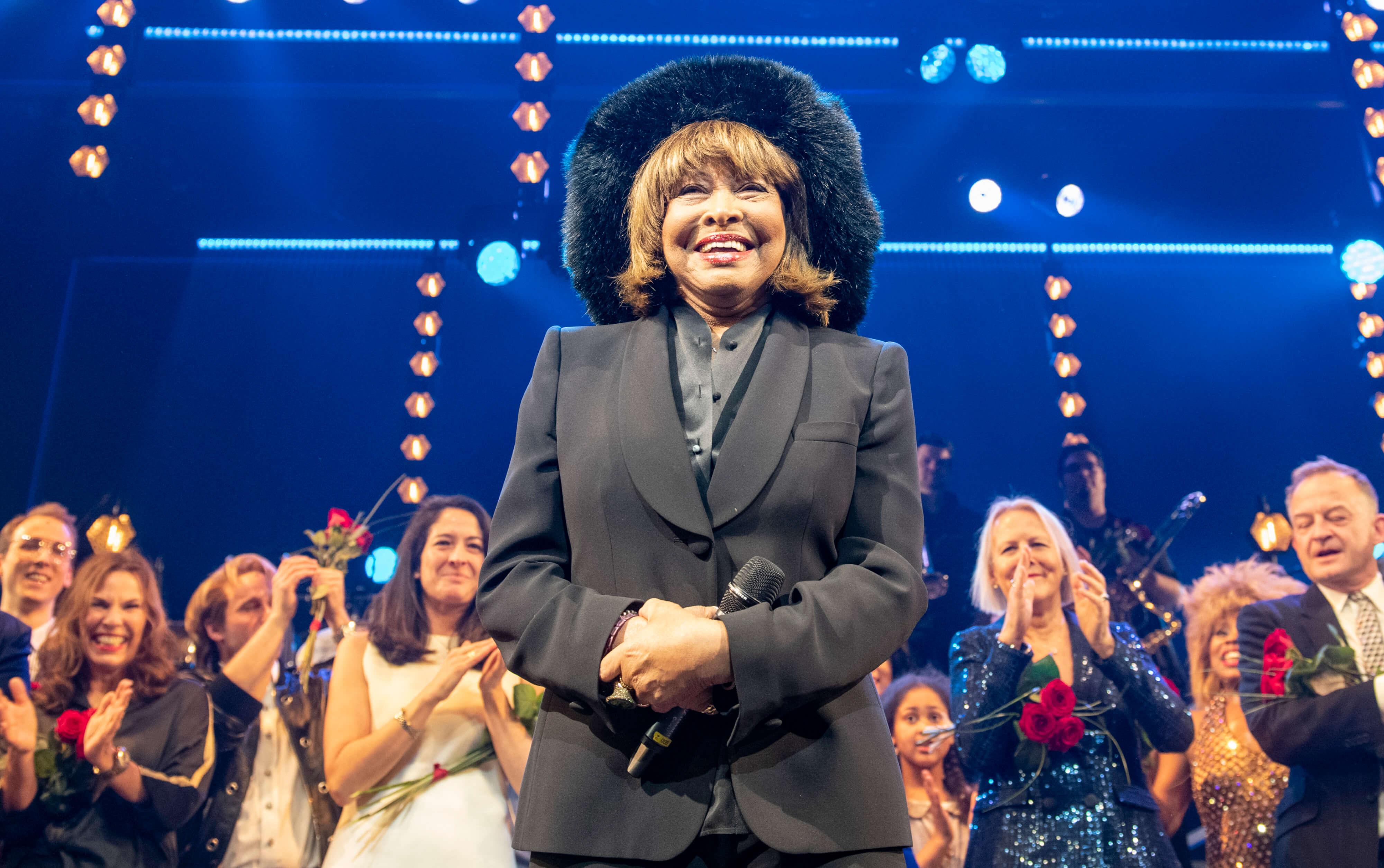 Tina Turner in Hamburg zur Musicalpremiere
